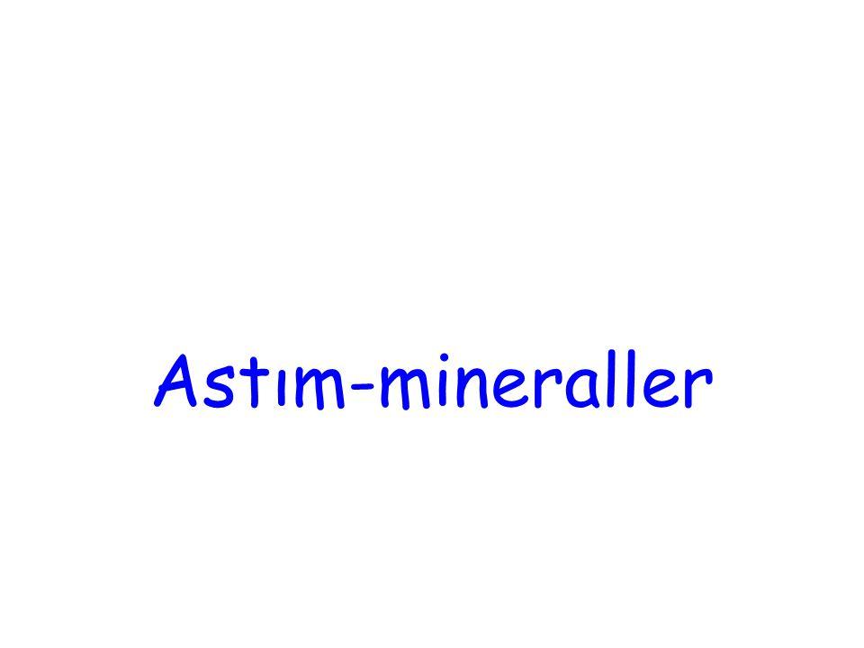Astım-mineraller