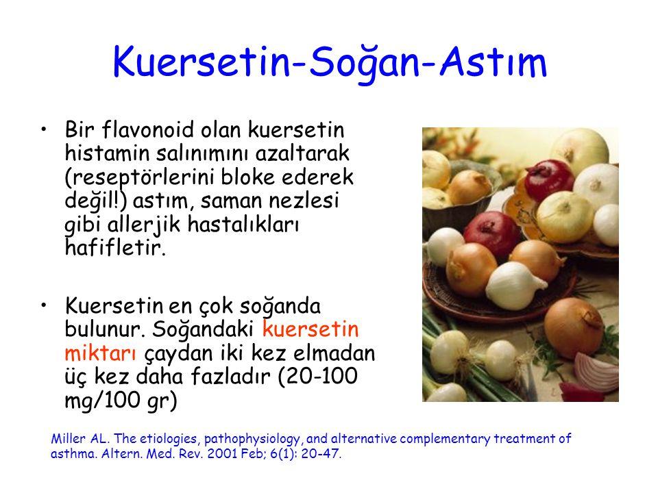 Kuersetin-Soğan-Astım