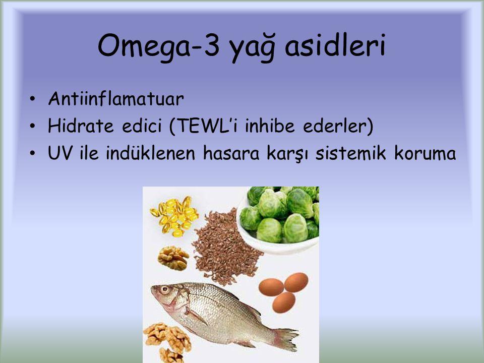 Omega-3 yağ asidleri Antiinflamatuar