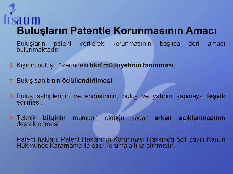 Buluşların Patentle Korunmasının Amacı
