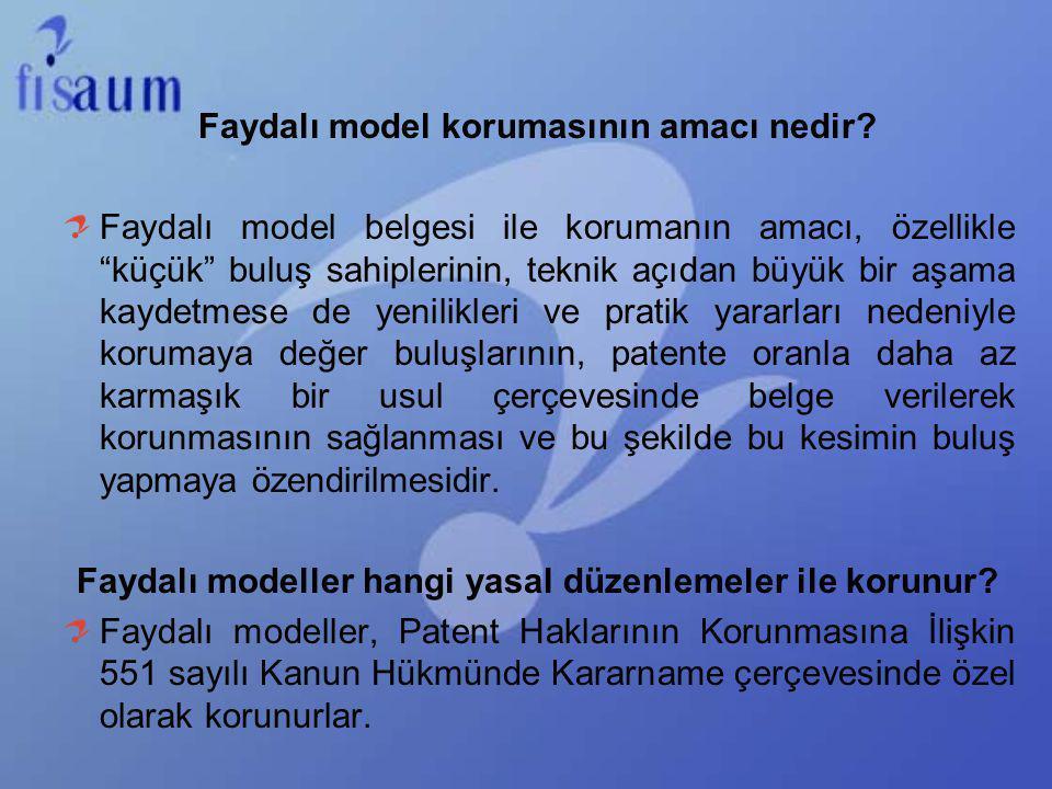 Faydalı model korumasının amacı nedir