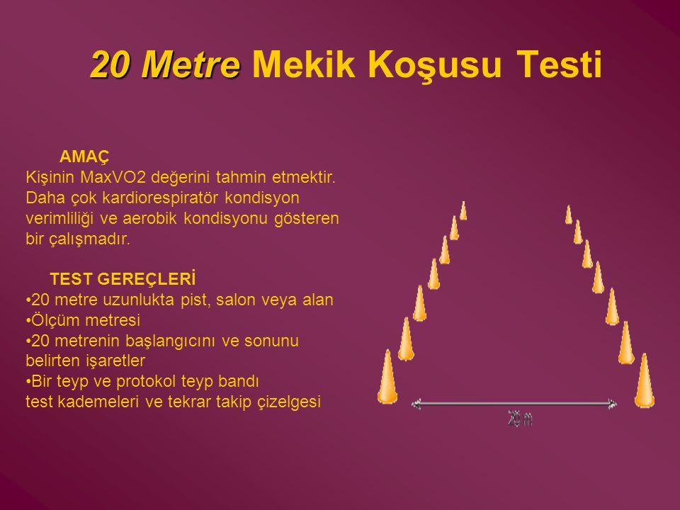 20 Metre Mekik Koşusu Testi