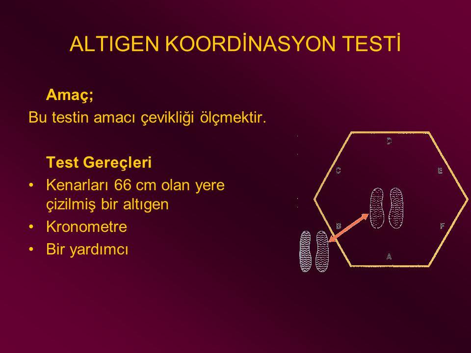ALTIGEN KOORDİNASYON TESTİ