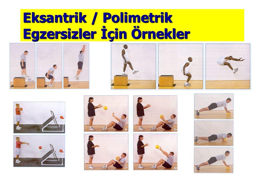 Eksantrik / Polimetrik Egzersizler İçin Örnekler