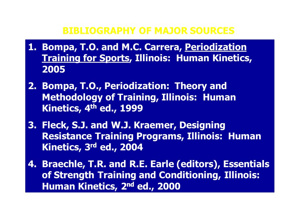 BIBLIOGRAPHY OF MAJOR SOURCES