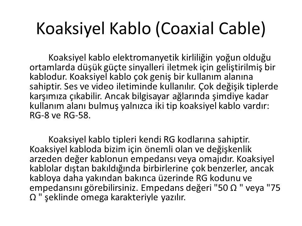 Koaksiyel Kablo (Coaxial Cable)