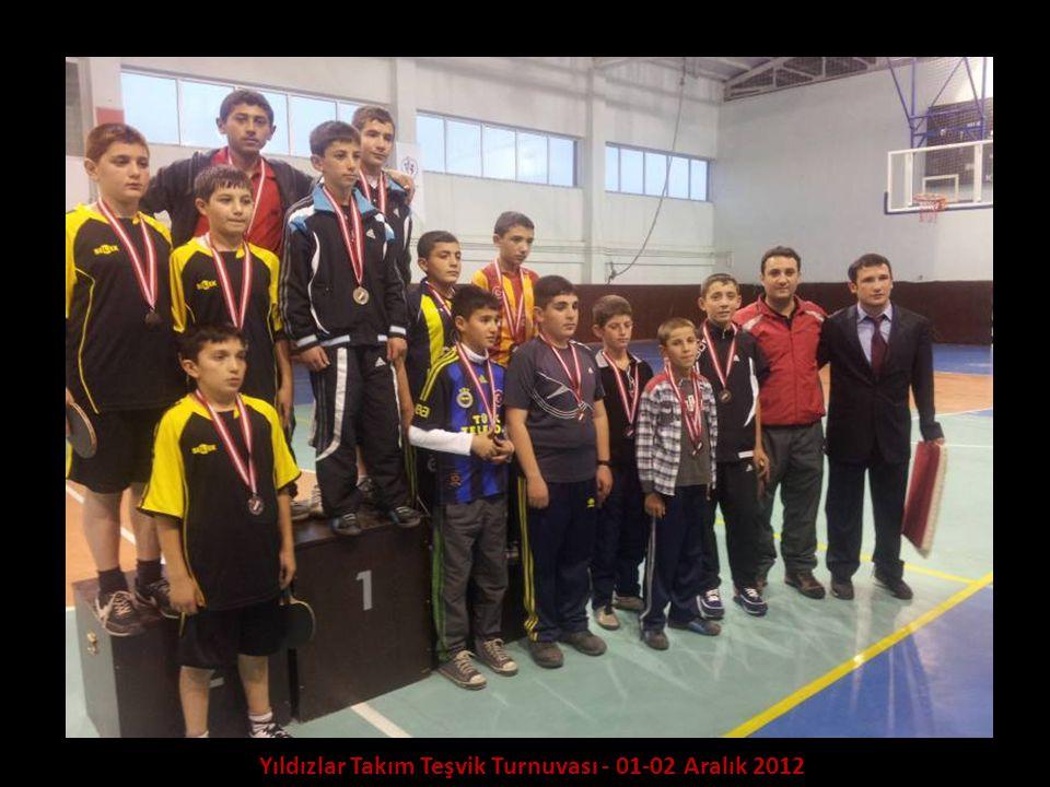 Yıldızlar Takım Teşvik Turnuvası - 01-02 Aralık 2012