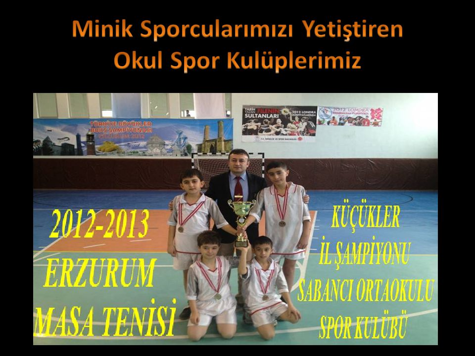 Minik Sporcularımızı Yetiştiren Okul Spor Kulüplerimiz