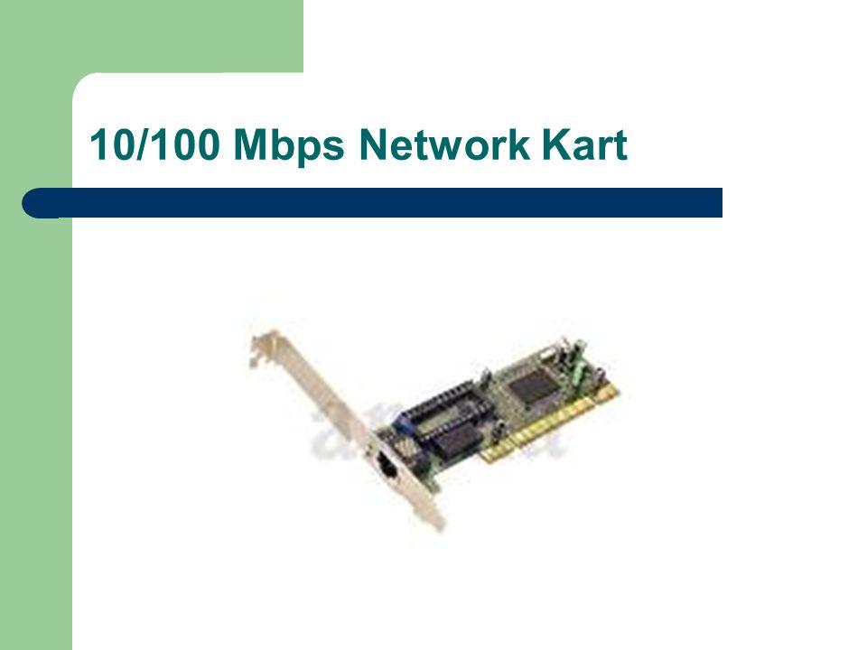 10/100 Mbps Network Kart