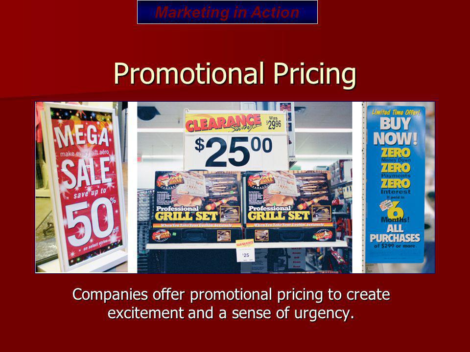 Promotional Pricing Marketing in Action
