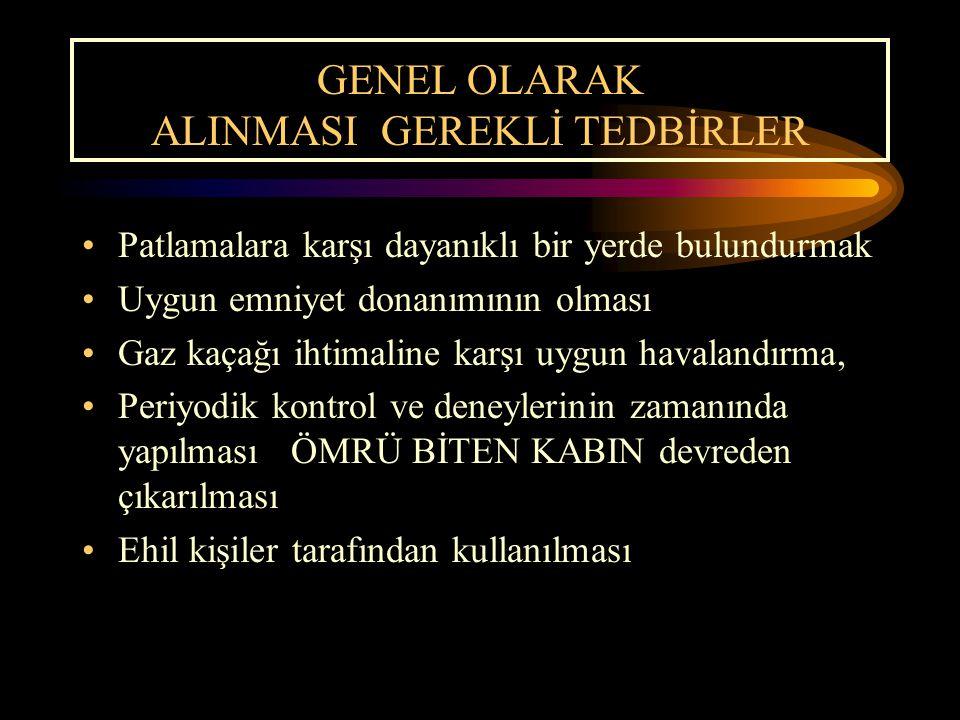 GENEL OLARAK ALINMASI GEREKLİ TEDBİRLER