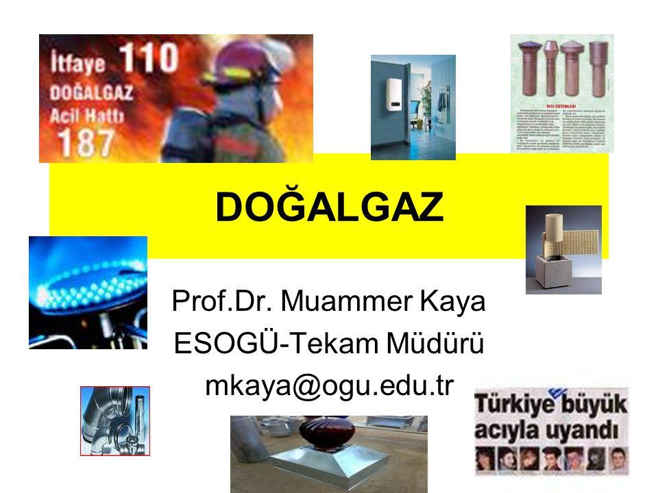 Prof.Dr. Muammer Kaya ESOGÜ-Tekam Müdürü mkaya@ogu.edu.tr