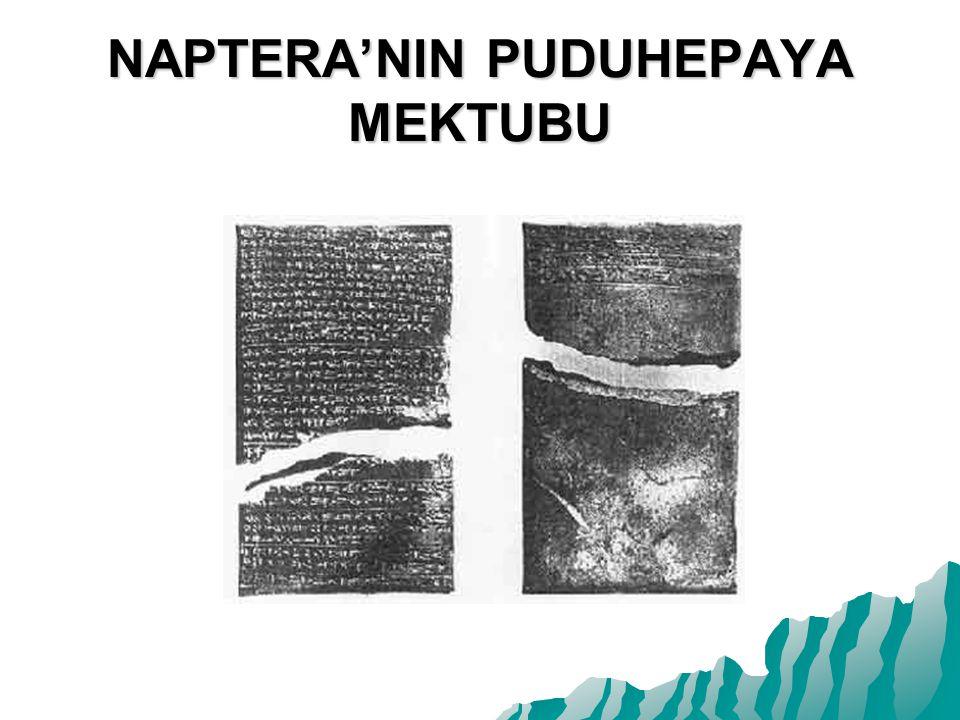 NAPTERA'NIN PUDUHEPAYA MEKTUBU