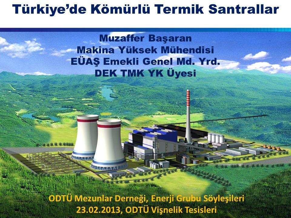 Türkiye'de Kömürlü Termik Santrallar