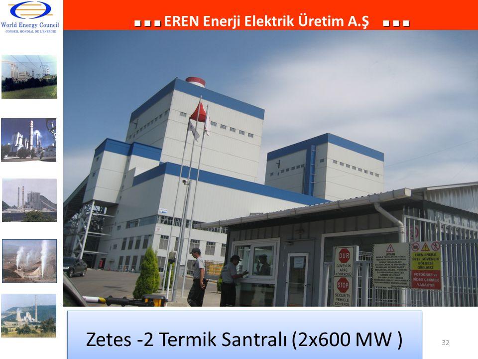 Zetes -2 Termik Santralı (2x600 MW )