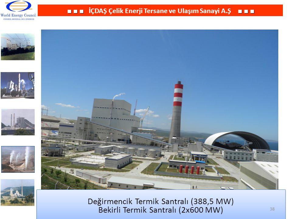 Değirmencik Termik Santralı (388,5 MW)