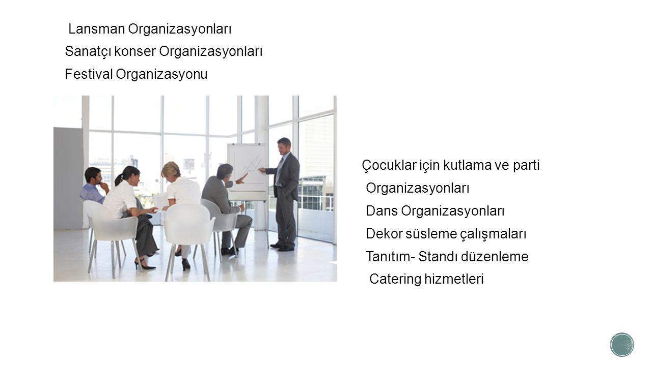 Lansman Organizasyonları