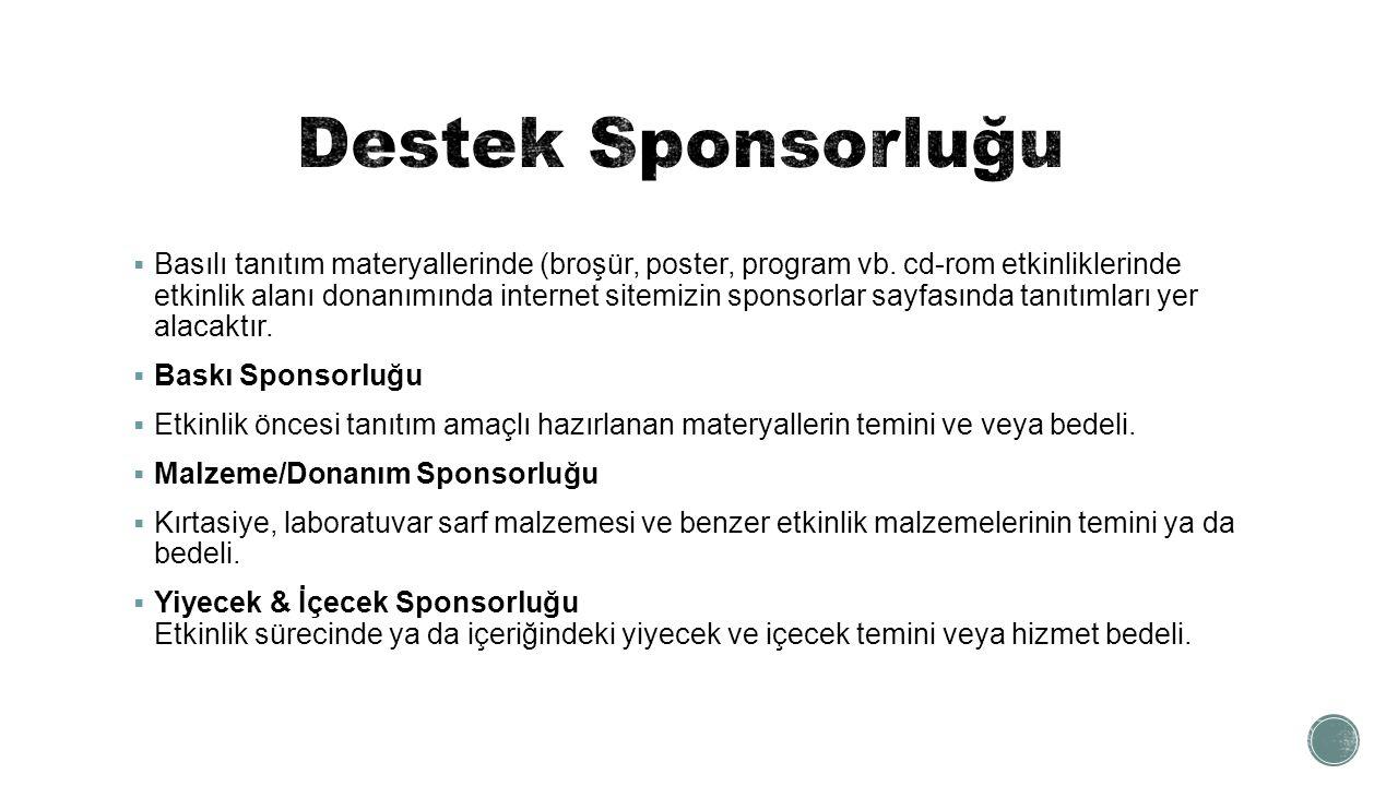 Destek Sponsorluğu