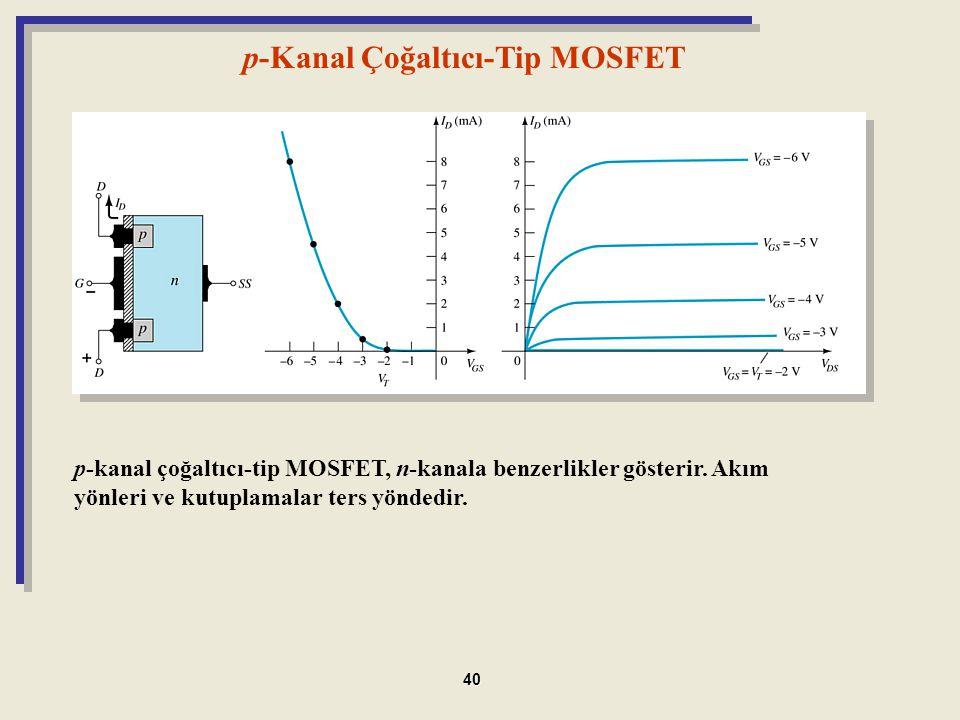 p-Kanal Çoğaltıcı-Tip MOSFET