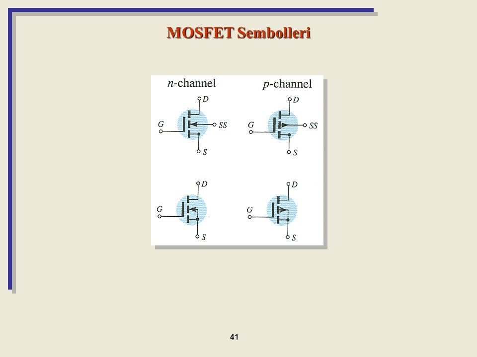 MOSFET Sembolleri 41