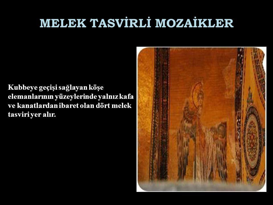 MELEK TASVİRLİ MOZAİKLER