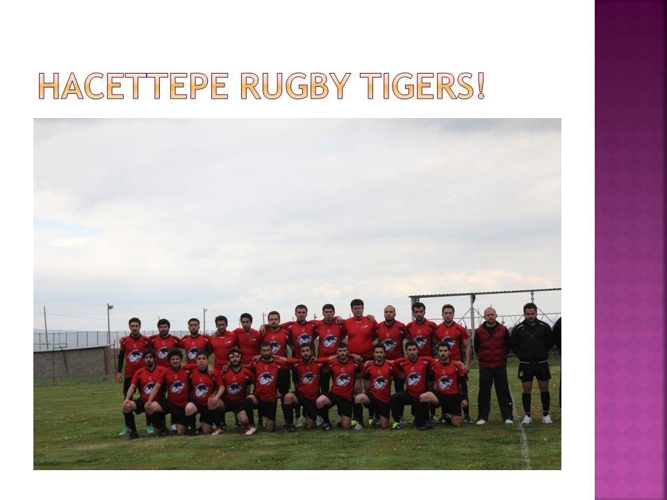 Hacettepe Rugby TIGERS!