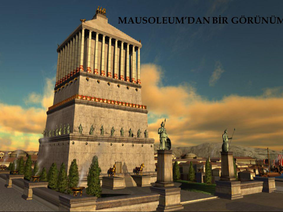 MAUSOLEUM'DAN BİR GÖRÜNÜM