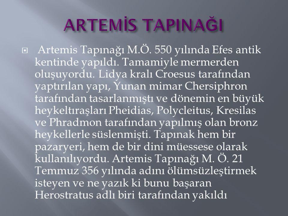 ARTEMİS TAPINAĞI