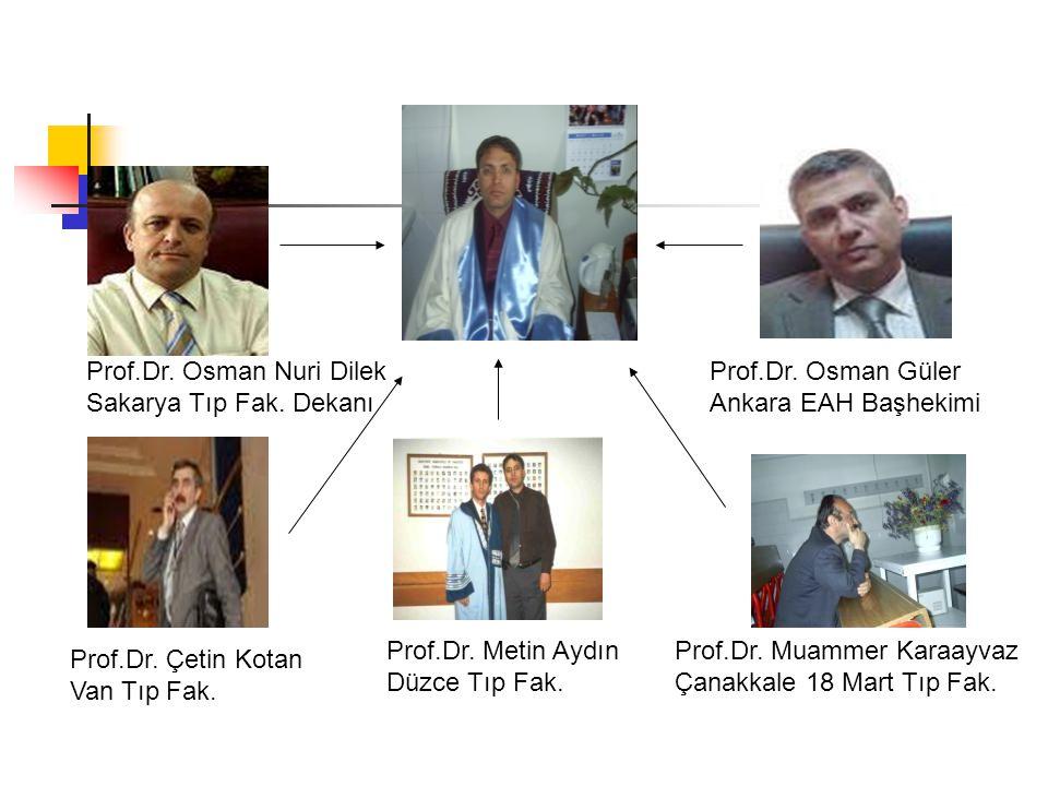 Prof.Dr. Osman Nuri Dilek
