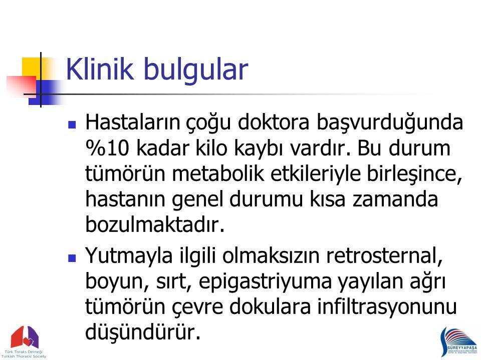 Klinik bulgular