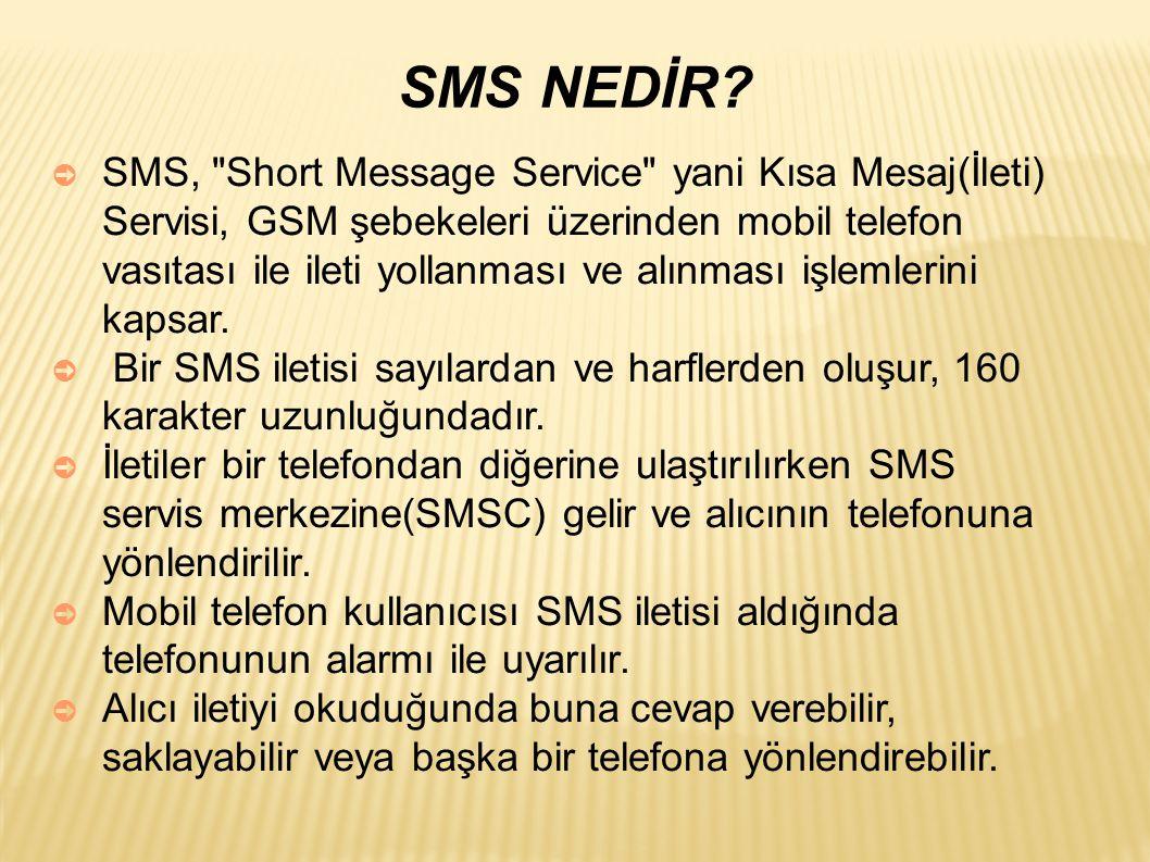 SMS NEDİR
