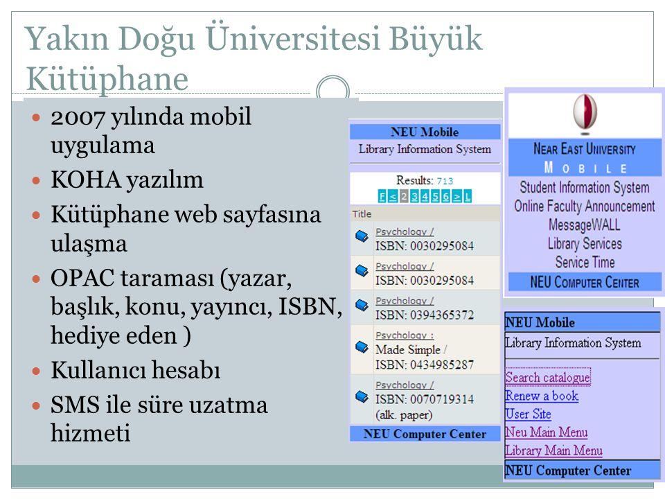 Yakın Doğu Üniversitesi Büyük Kütüphane