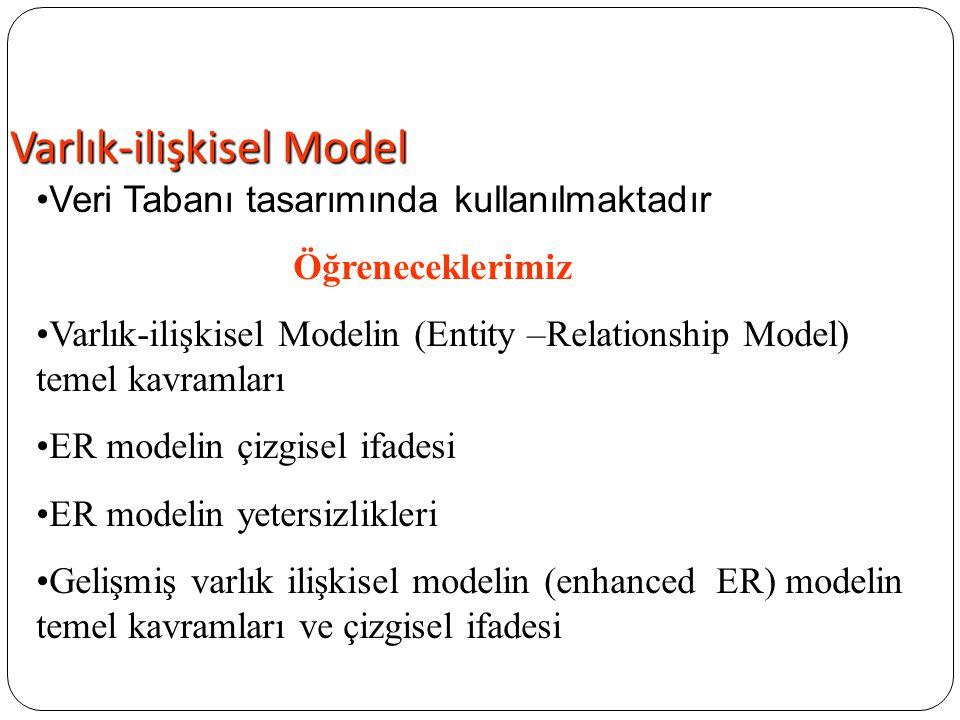 Varlık-ilişkisel Model