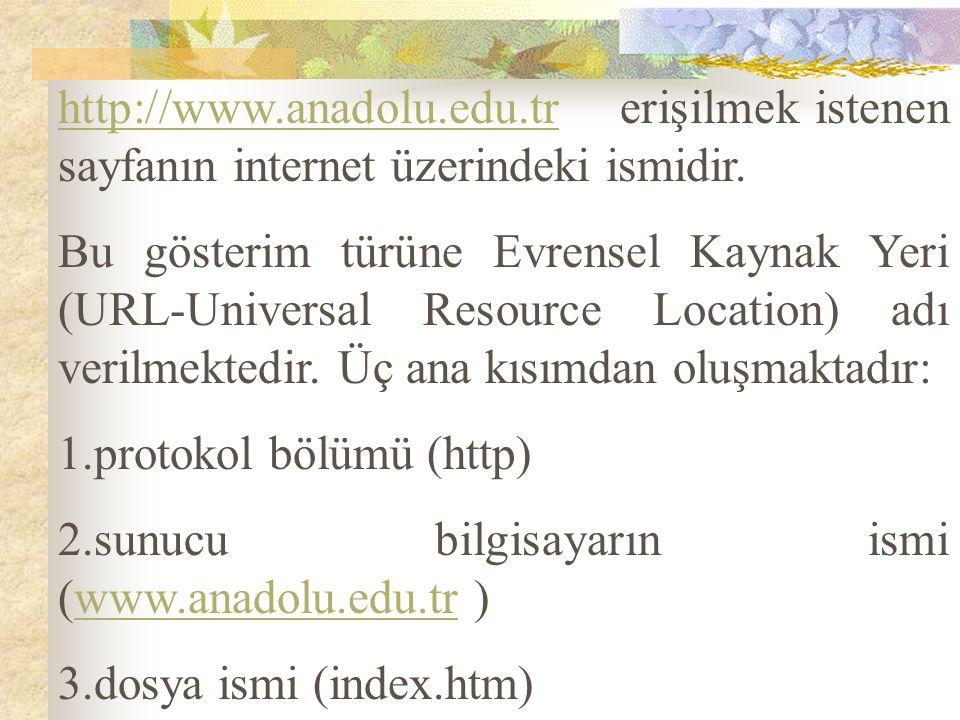http://www. anadolu. edu