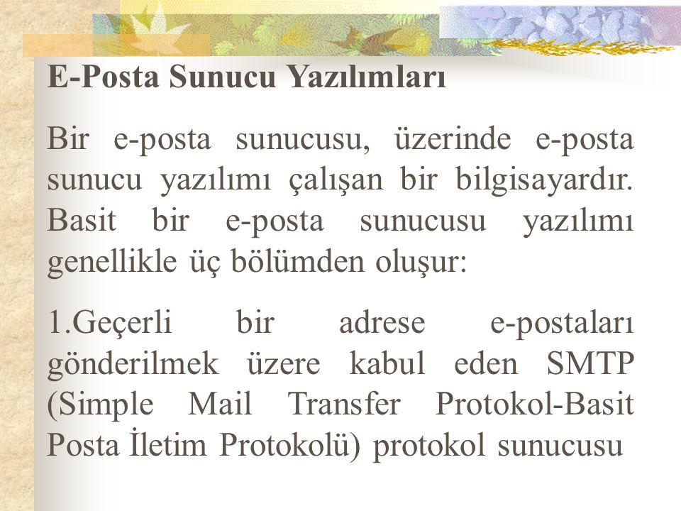 E-Posta Sunucu Yazılımları