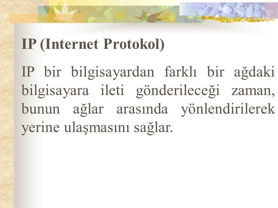 IP (Internet Protokol)