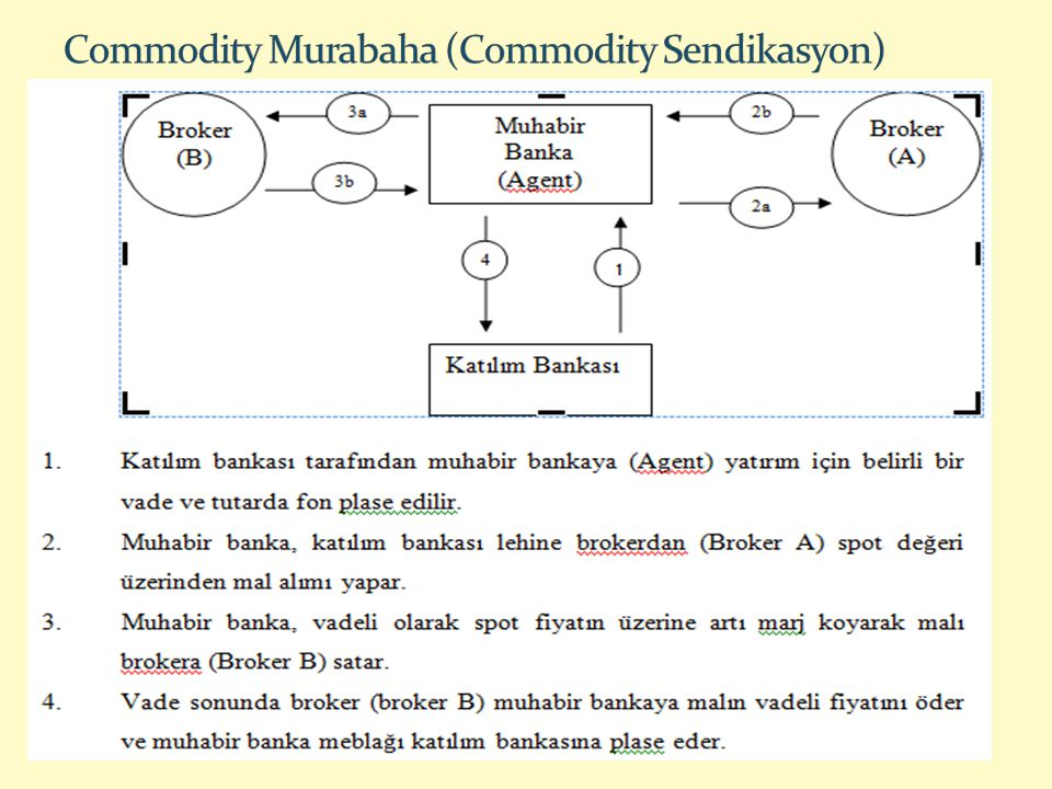 Commodity Murabaha (Commodity Sendikasyon)
