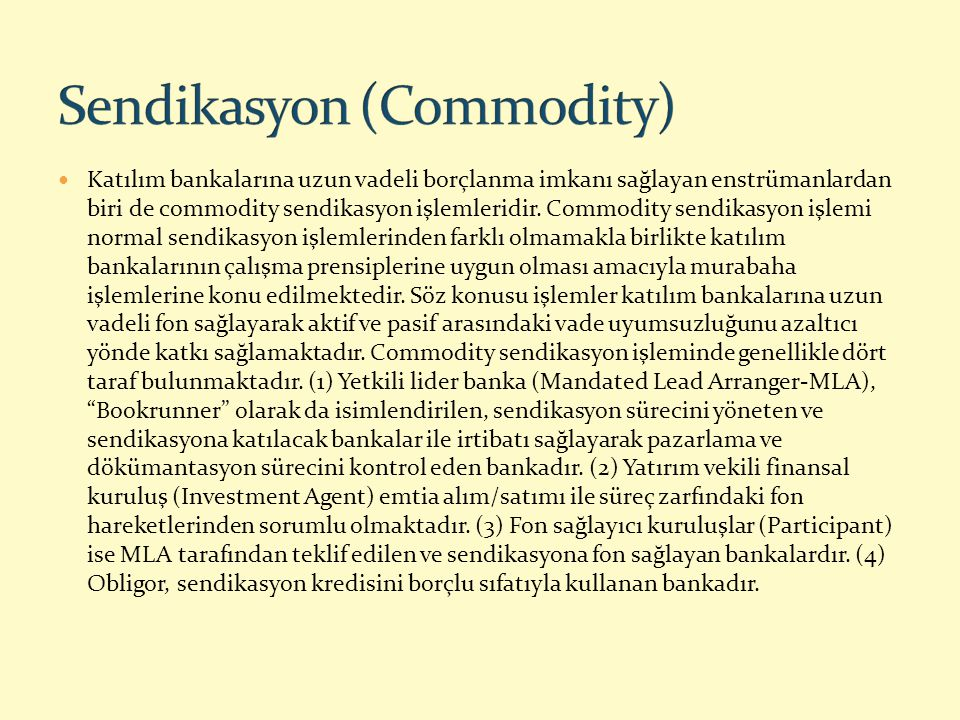 Sendikasyon (Commodity)