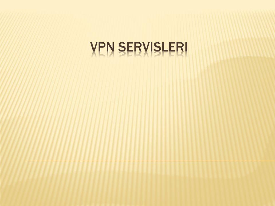 VPN Servisleri