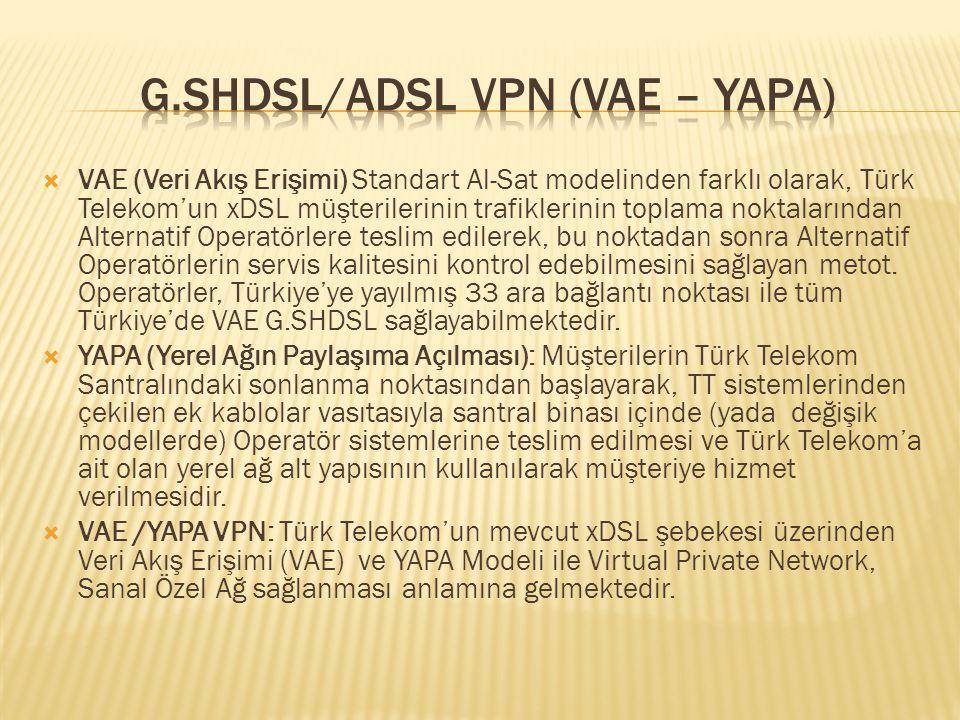 G.SHDSL/ADSL VPN (VAE – YAPA)