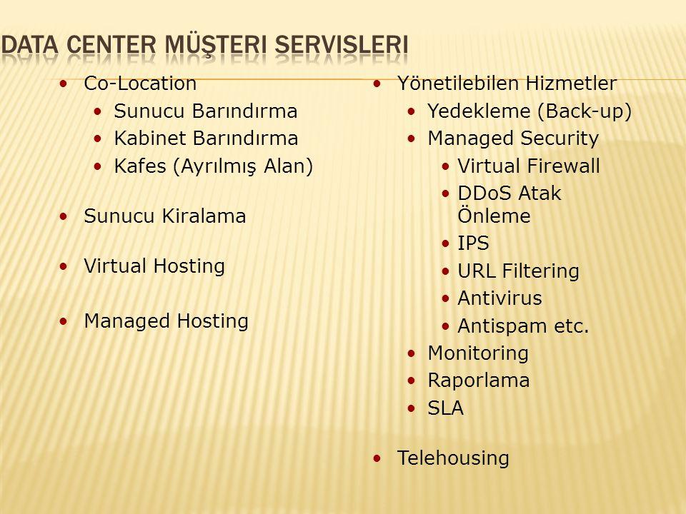 Data Center Müşteri Servisleri
