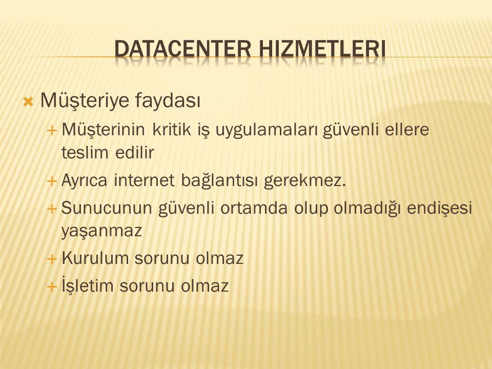 Datacenter Hizmetleri