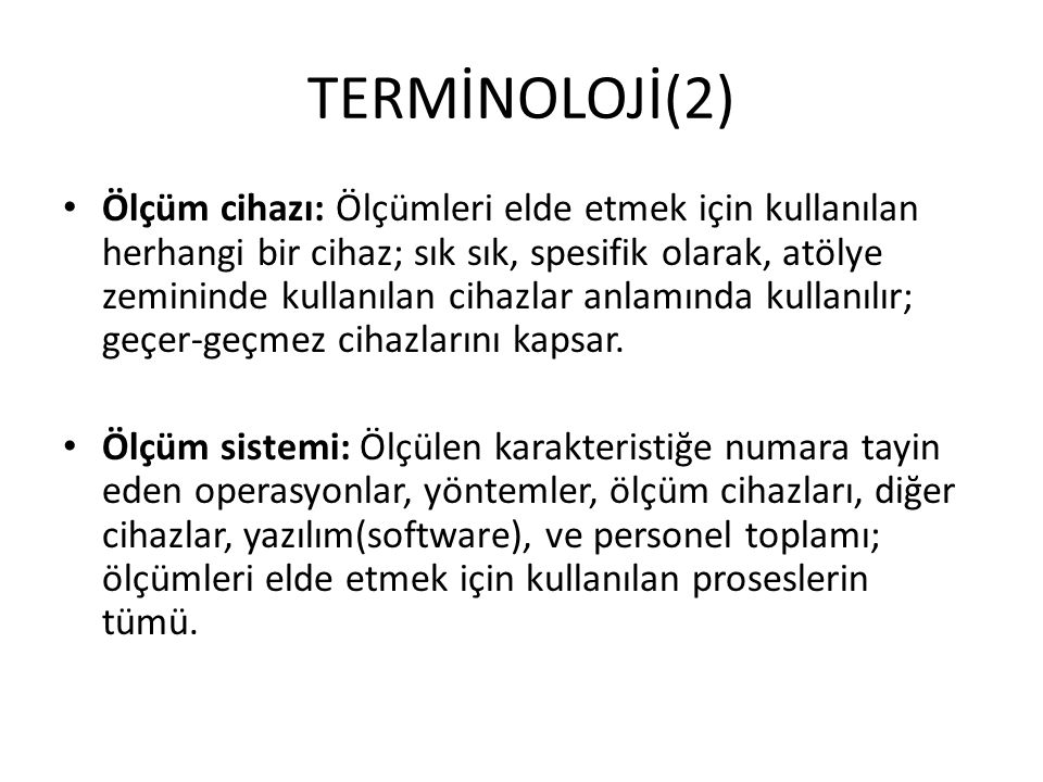 TERMİNOLOJİ(2)