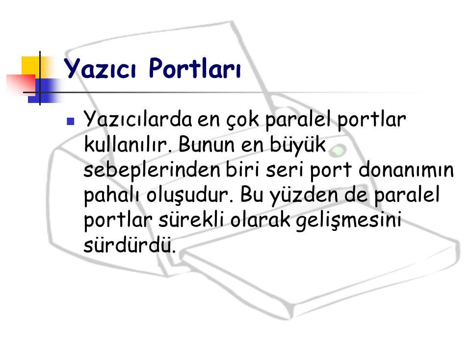 Yazıcı Portları
