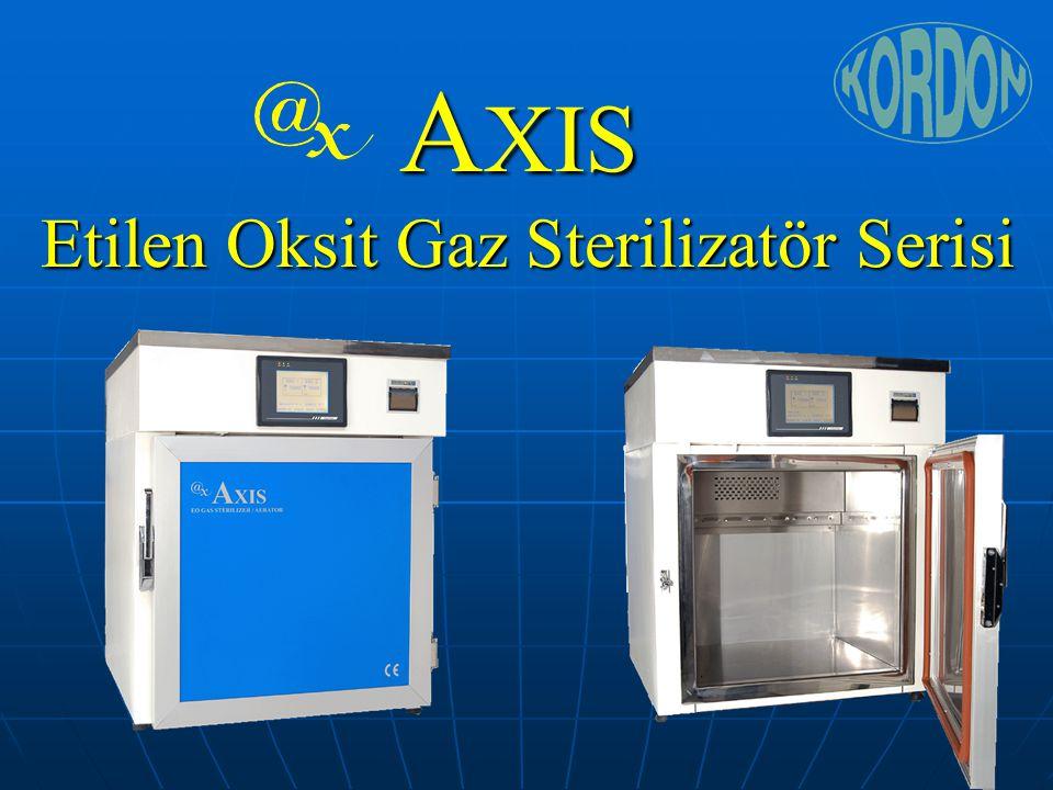 AXIS Etilen Oksit Gaz Sterilizatör Serisi