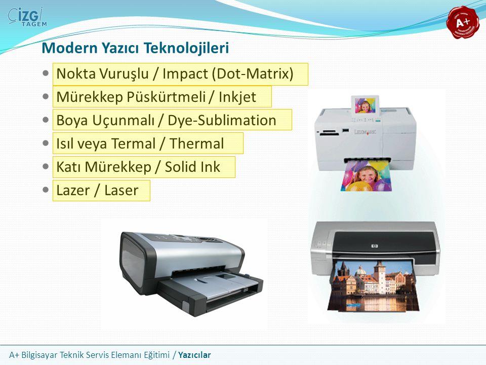 Modern Yazıcı Teknolojileri