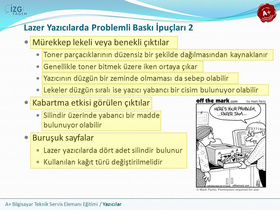 Lazer Yazıcılarda Problemli Baskı İpuçları 2