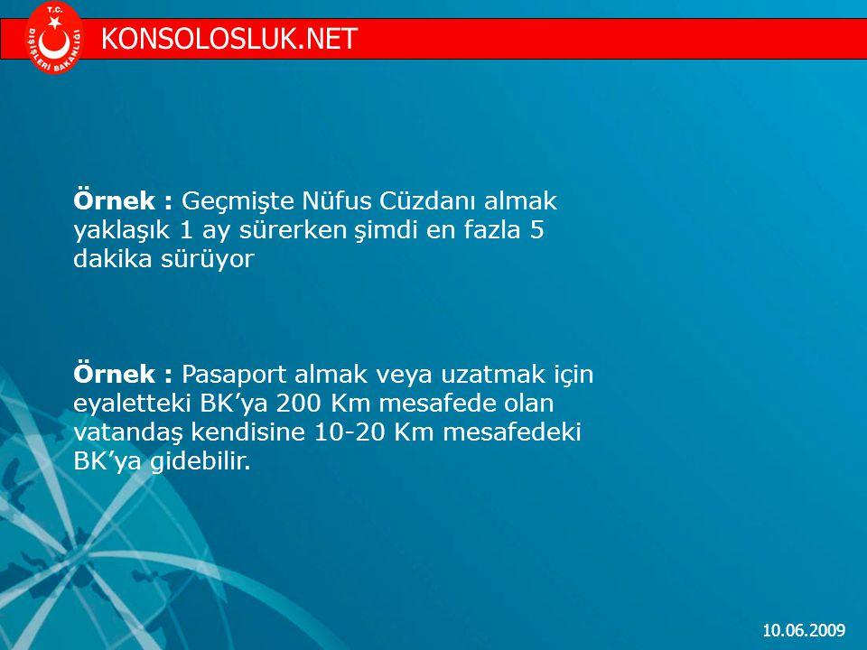 KONSOLOSLUK.NET Örnek : Geçmişte Nüfus Cüzdanı almak