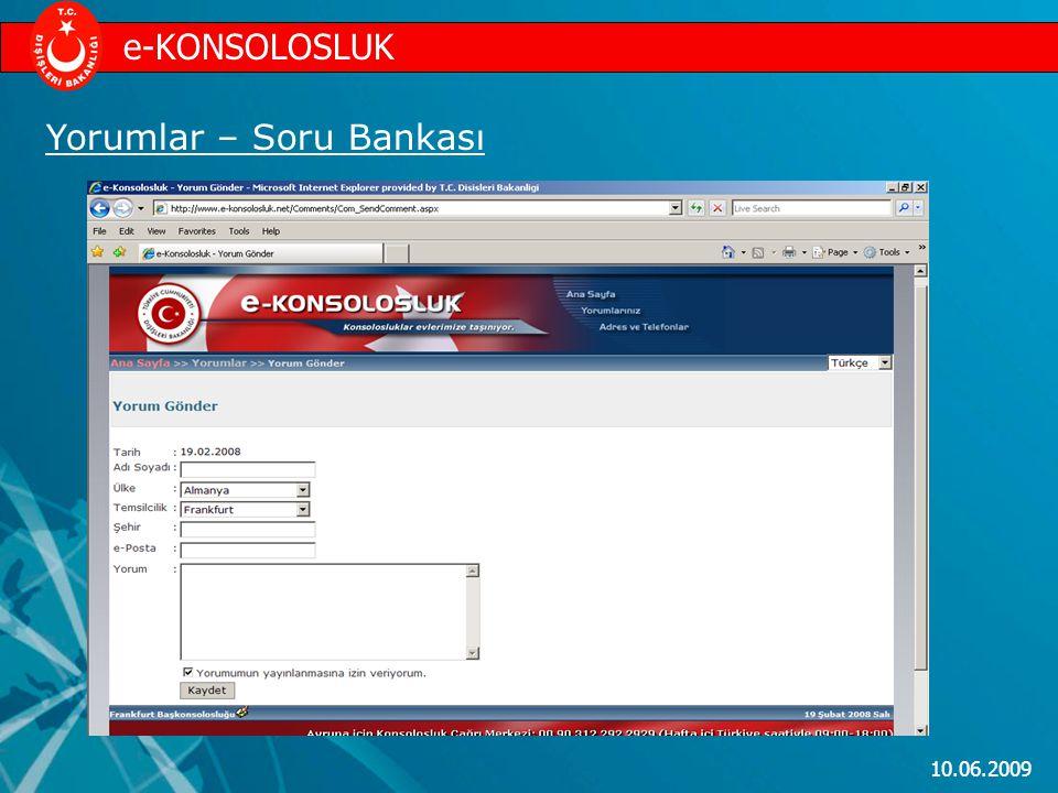 e-KONSOLOSLUK Yorumlar – Soru Bankası