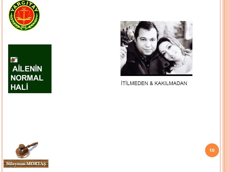 AİLENİN NORMAL HALİ İTİLMEDEN & KAKILMADAN Süleyman MORTAŞ
